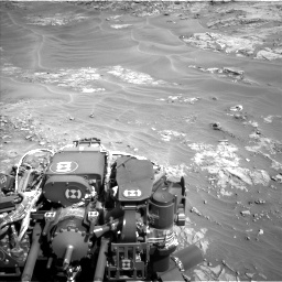 Nasa's Mars rover Curiosity acquired this image using its Left Navigation Camera on Sol 1274, at drive 798, site number 53