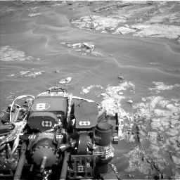Nasa's Mars rover Curiosity acquired this image using its Left Navigation Camera on Sol 1274, at drive 822, site number 53