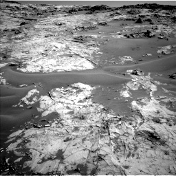 Nasa's Mars rover Curiosity acquired this image using its Left Navigation Camera on Sol 1274, at drive 846, site number 53