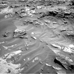 Nasa's Mars rover Curiosity acquired this image using its Left Navigation Camera on Sol 1274, at drive 858, site number 53