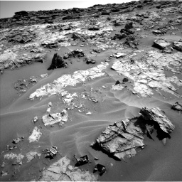 Nasa's Mars rover Curiosity acquired this image using its Left Navigation Camera on Sol 1274, at drive 906, site number 53