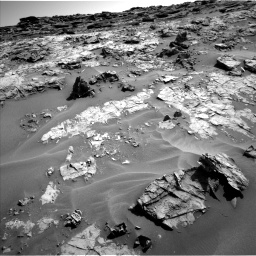 Nasa's Mars rover Curiosity acquired this image using its Left Navigation Camera on Sol 1274, at drive 912, site number 53