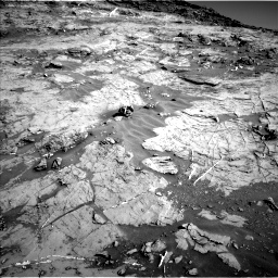 Nasa's Mars rover Curiosity acquired this image using its Left Navigation Camera on Sol 1274, at drive 942, site number 53
