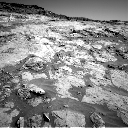 Nasa's Mars rover Curiosity acquired this image using its Left Navigation Camera on Sol 1274, at drive 984, site number 53