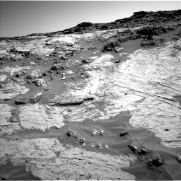 Nasa's Mars rover Curiosity acquired this image using its Left Navigation Camera on Sol 1274, at drive 1002, site number 53