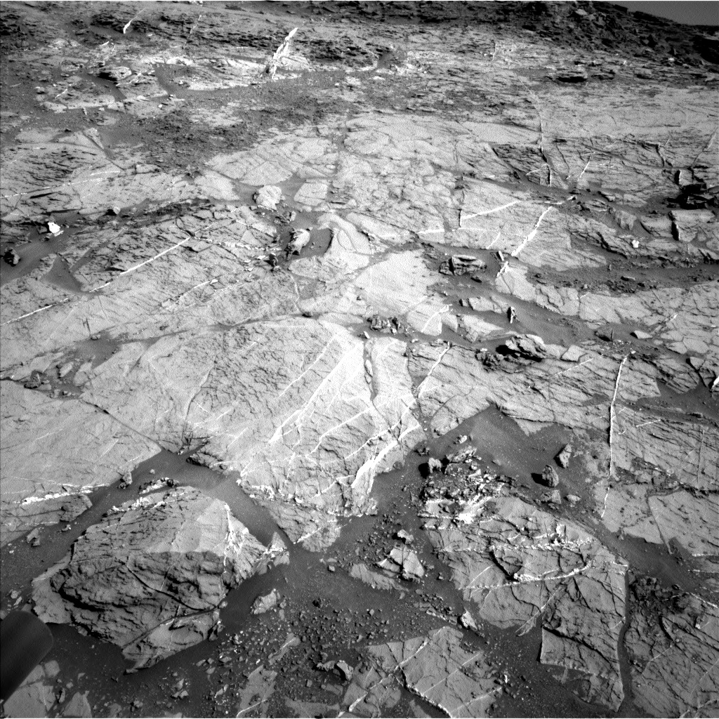 Nasa's Mars rover Curiosity acquired this image using its Left Navigation Camera on Sol 1274, at drive 1020, site number 53