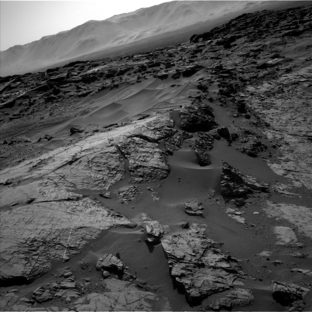 NASA's Mars rover Curiosity acquired this image using its Left Navigation Camera (Navcams) on Sol 1274