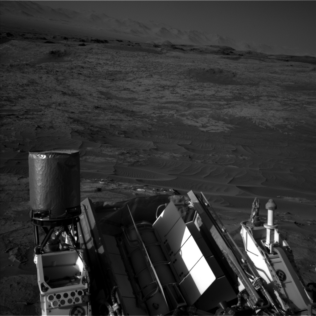 Nasa's Mars rover Curiosity acquired this image using its Left Navigation Camera on Sol 1274, at drive 1056, site number 53