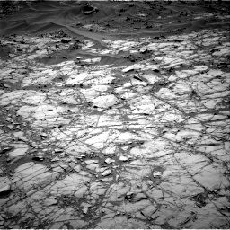 Nasa's Mars rover Curiosity acquired this image using its Right Navigation Camera on Sol 1274, at drive 636, site number 53