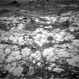 Nasa's Mars rover Curiosity acquired this image using its Right Navigation Camera on Sol 1274, at drive 684, site number 53