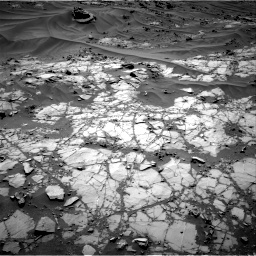 Nasa's Mars rover Curiosity acquired this image using its Right Navigation Camera on Sol 1274, at drive 690, site number 53