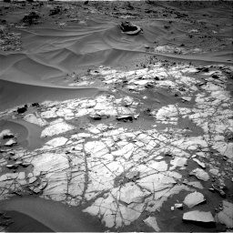 Nasa's Mars rover Curiosity acquired this image using its Right Navigation Camera on Sol 1274, at drive 702, site number 53