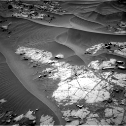 Nasa's Mars rover Curiosity acquired this image using its Right Navigation Camera on Sol 1274, at drive 720, site number 53