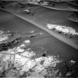 Nasa's Mars rover Curiosity acquired this image using its Right Navigation Camera on Sol 1274, at drive 738, site number 53