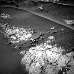 Nasa's Mars rover Curiosity acquired this image using its Right Navigation Camera on Sol 1274, at drive 744, site number 53