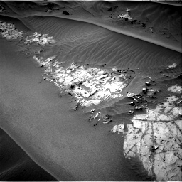 Nasa's Mars rover Curiosity acquired this image using its Right Navigation Camera on Sol 1274, at drive 750, site number 53