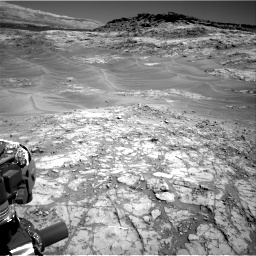 Nasa's Mars rover Curiosity acquired this image using its Right Navigation Camera on Sol 1274, at drive 768, site number 53
