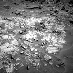 Nasa's Mars rover Curiosity acquired this image using its Right Navigation Camera on Sol 1274, at drive 810, site number 53