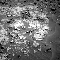 Nasa's Mars rover Curiosity acquired this image using its Right Navigation Camera on Sol 1274, at drive 816, site number 53