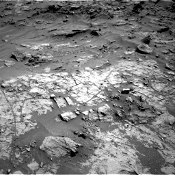 Nasa's Mars rover Curiosity acquired this image using its Right Navigation Camera on Sol 1274, at drive 828, site number 53