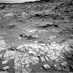 Nasa's Mars rover Curiosity acquired this image using its Right Navigation Camera on Sol 1274, at drive 834, site number 53