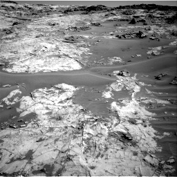 Nasa's Mars rover Curiosity acquired this image using its Right Navigation Camera on Sol 1274, at drive 846, site number 53