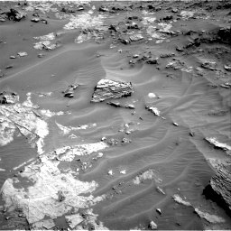 Nasa's Mars rover Curiosity acquired this image using its Right Navigation Camera on Sol 1274, at drive 864, site number 53