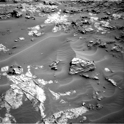 Nasa's Mars rover Curiosity acquired this image using its Right Navigation Camera on Sol 1274, at drive 870, site number 53