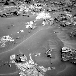 Nasa's Mars rover Curiosity acquired this image using its Right Navigation Camera on Sol 1274, at drive 876, site number 53