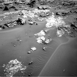 Nasa's Mars rover Curiosity acquired this image using its Right Navigation Camera on Sol 1274, at drive 888, site number 53