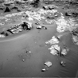 Nasa's Mars rover Curiosity acquired this image using its Right Navigation Camera on Sol 1274, at drive 894, site number 53