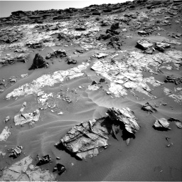 Nasa's Mars rover Curiosity acquired this image using its Right Navigation Camera on Sol 1274, at drive 906, site number 53