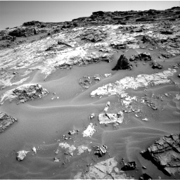 Nasa's Mars rover Curiosity acquired this image using its Right Navigation Camera on Sol 1274, at drive 918, site number 53