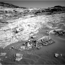 Nasa's Mars rover Curiosity acquired this image using its Right Navigation Camera on Sol 1274, at drive 930, site number 53
