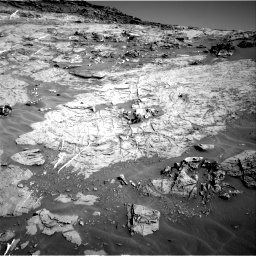 Nasa's Mars rover Curiosity acquired this image using its Right Navigation Camera on Sol 1274, at drive 936, site number 53