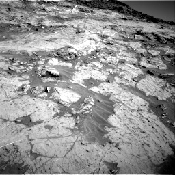 Nasa's Mars rover Curiosity acquired this image using its Right Navigation Camera on Sol 1274, at drive 966, site number 53
