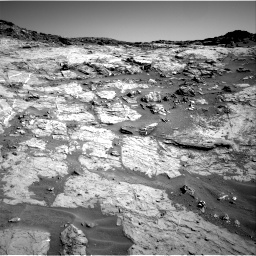Nasa's Mars rover Curiosity acquired this image using its Right Navigation Camera on Sol 1274, at drive 990, site number 53