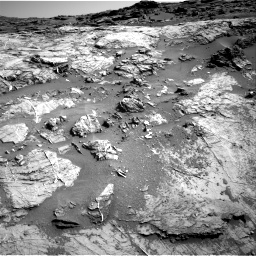 Nasa's Mars rover Curiosity acquired this image using its Right Navigation Camera on Sol 1274, at drive 1020, site number 53