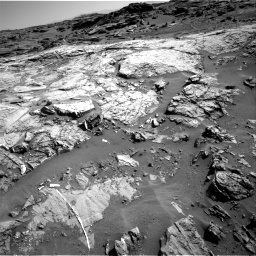 Nasa's Mars rover Curiosity acquired this image using its Right Navigation Camera on Sol 1274, at drive 1038, site number 53
