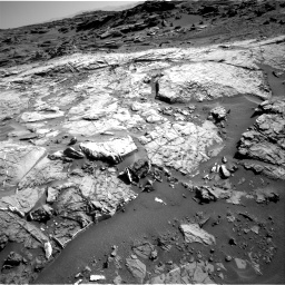 Nasa's Mars rover Curiosity acquired this image using its Right Navigation Camera on Sol 1274, at drive 1044, site number 53