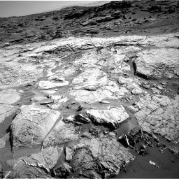 Nasa's Mars rover Curiosity acquired this image using its Right Navigation Camera on Sol 1274, at drive 1050, site number 53