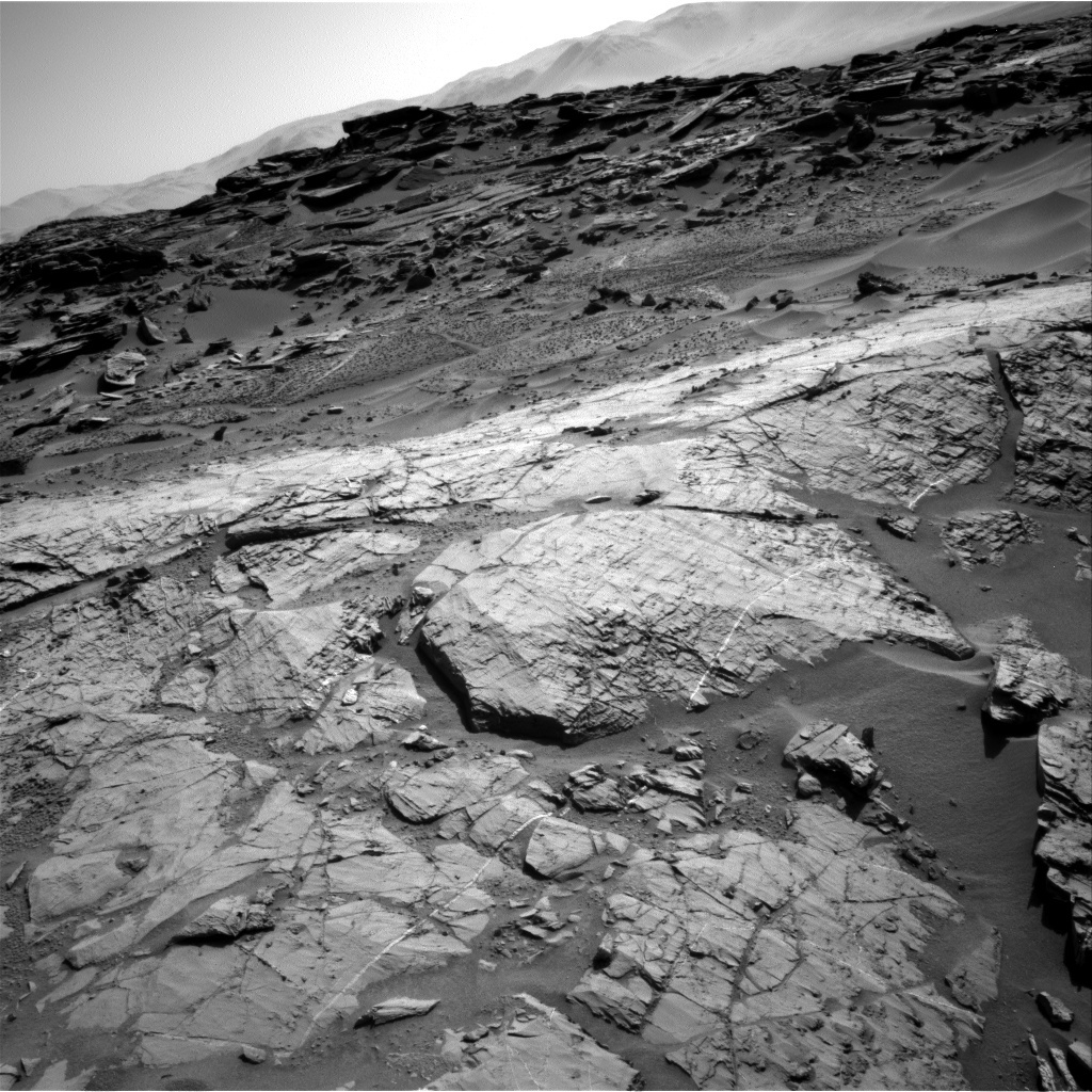 NASA's Mars rover Curiosity acquired this image using its Right Navigation Cameras (Navcams) on Sol 1274