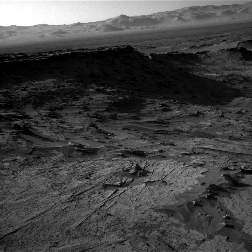 Nasa's Mars rover Curiosity acquired this image using its Right Navigation Camera on Sol 1274, at drive 1056, site number 53