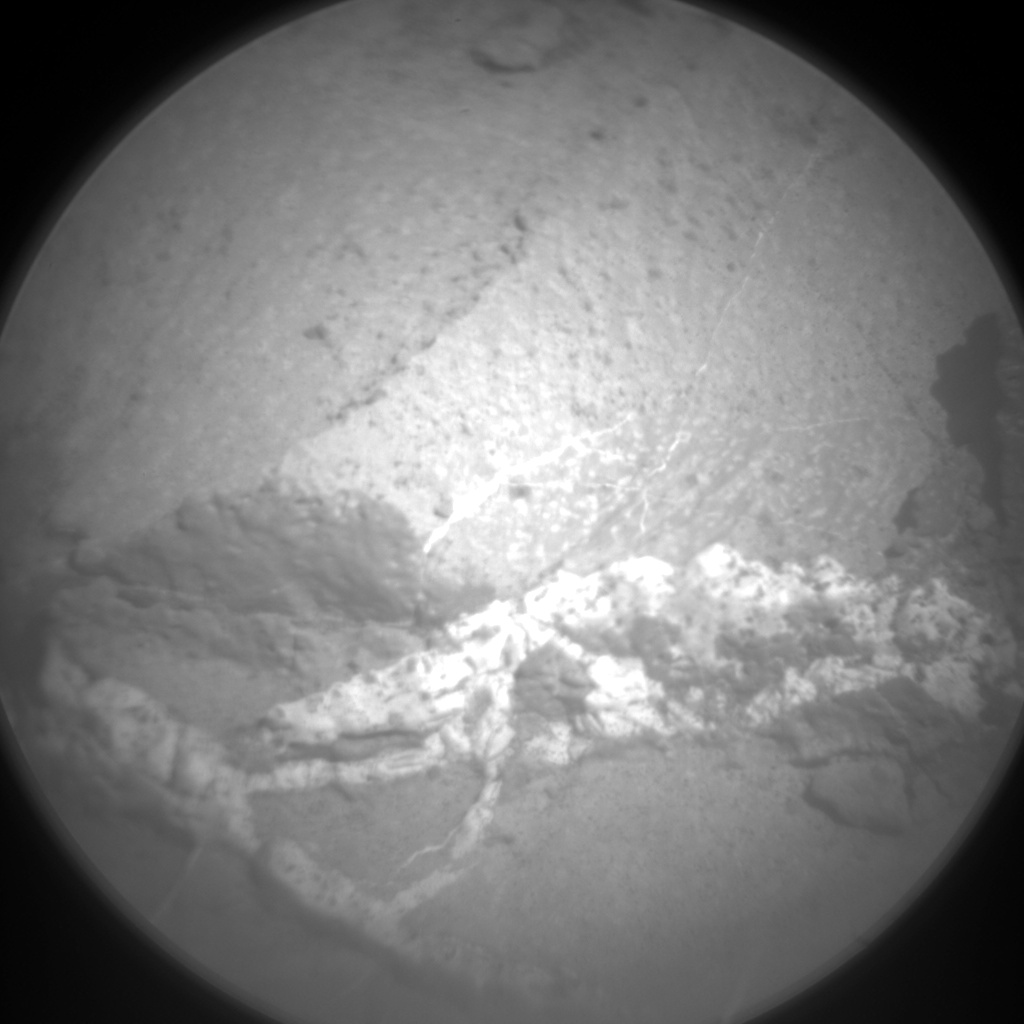 Nasa's Mars rover Curiosity acquired this image using its Chemistry & Camera (ChemCam) on Sol 1275, at drive 1056, site number 53