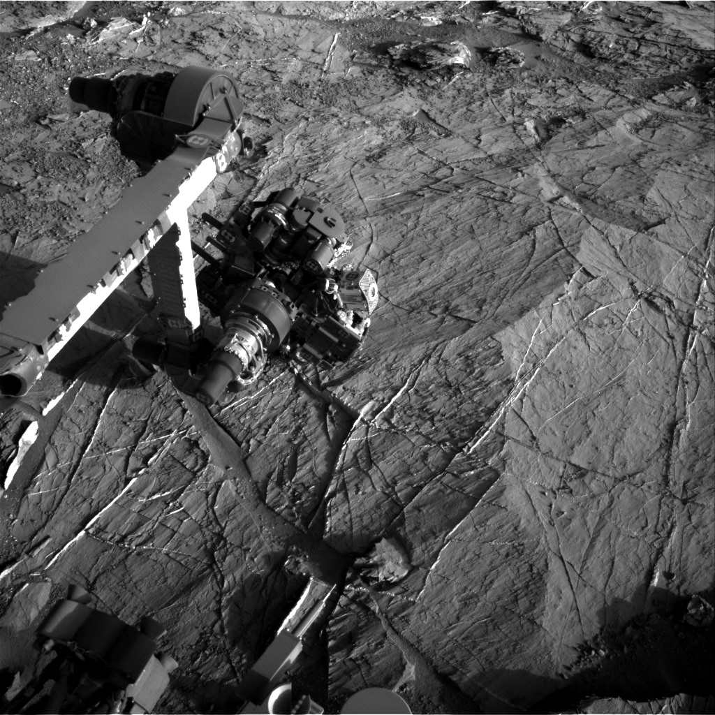 Nasa's Mars rover Curiosity acquired this image using its Right Navigation Camera on Sol 1275, at drive 1056, site number 53