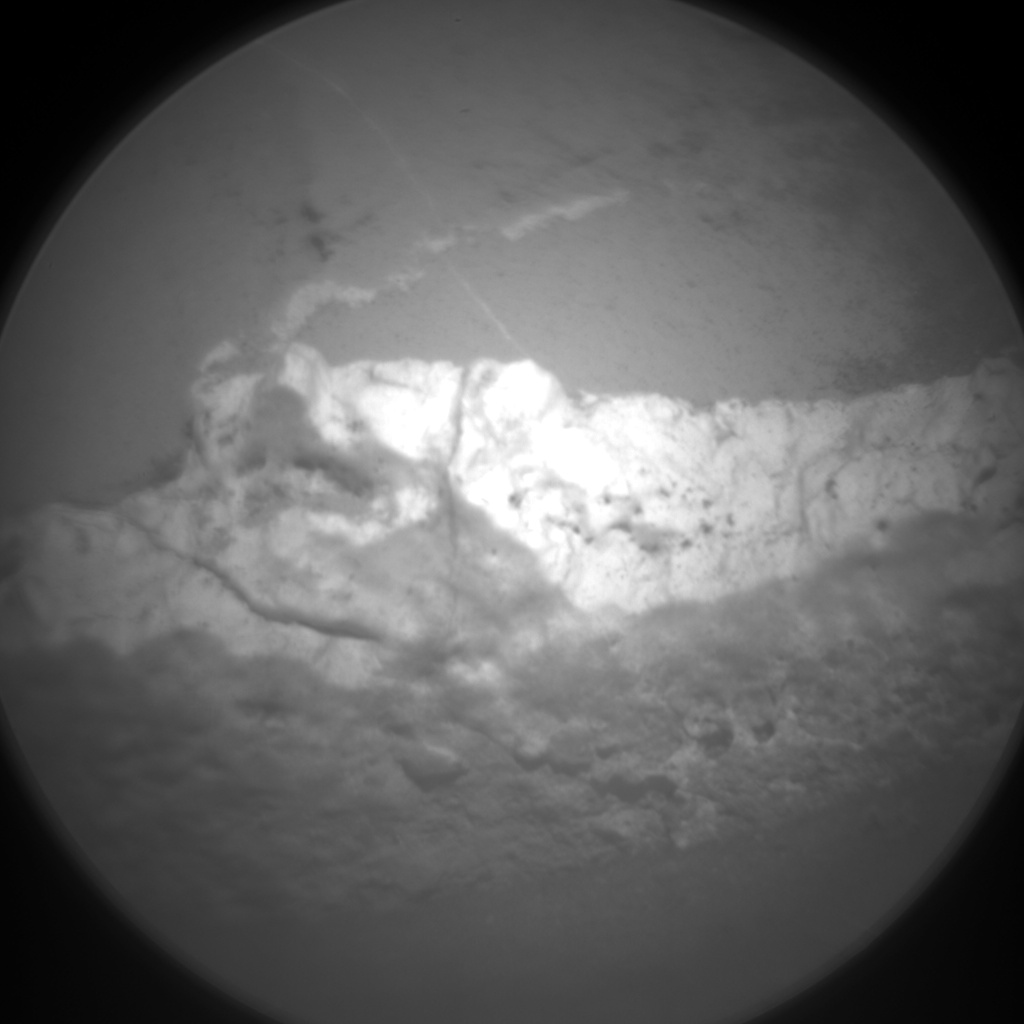 Nasa's Mars rover Curiosity acquired this image using its Chemistry & Camera (ChemCam) on Sol 1276, at drive 1056, site number 53