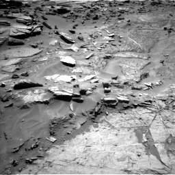 Nasa's Mars rover Curiosity acquired this image using its Left Navigation Camera on Sol 1276, at drive 1110, site number 53
