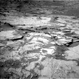 Nasa's Mars rover Curiosity acquired this image using its Left Navigation Camera on Sol 1276, at drive 1134, site number 53