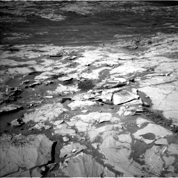 Nasa's Mars rover Curiosity acquired this image using its Left Navigation Camera on Sol 1276, at drive 1170, site number 53
