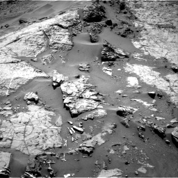 Nasa's Mars rover Curiosity acquired this image using its Right Navigation Camera on Sol 1276, at drive 1056, site number 53